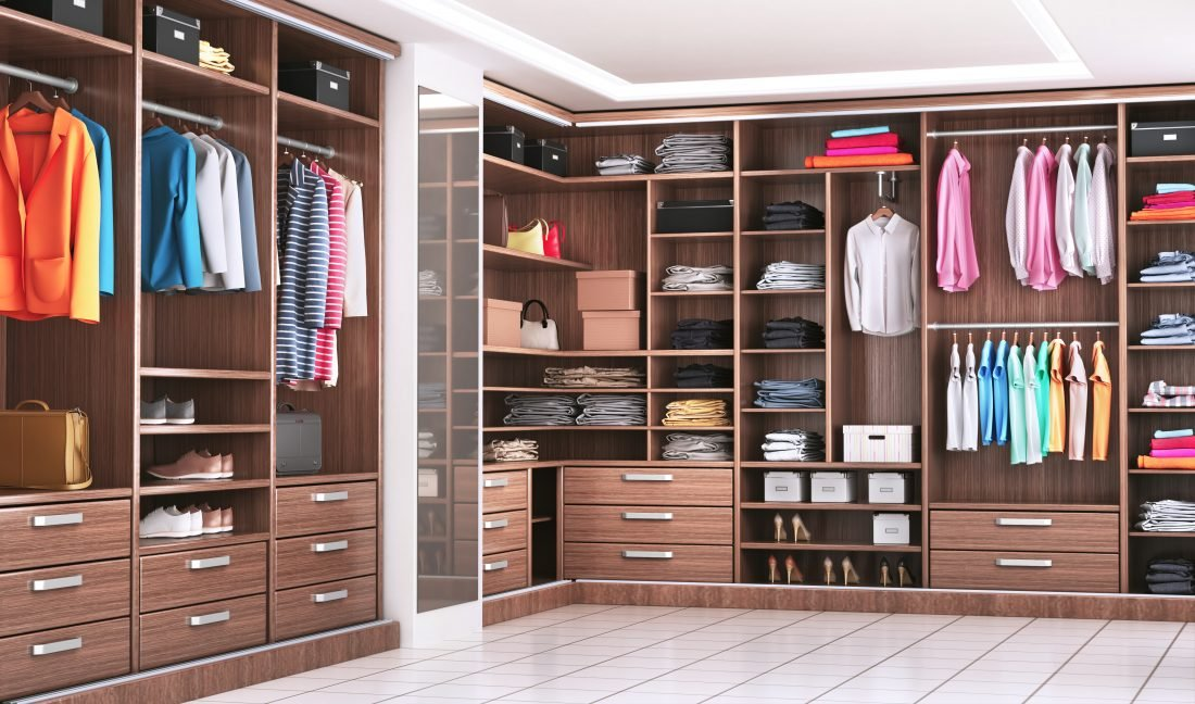 Designing your closet and wardrobe